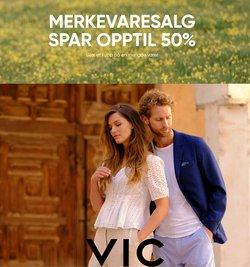 Tilbud fra VIC i VIC-brosjyren ( 3 dager igjen)