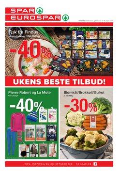 Tilbud fra Supermarkeder i Spar-brosjyren ( 2 dager siden )