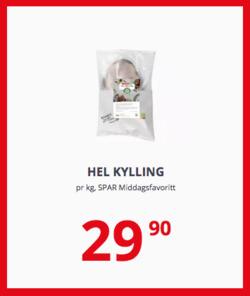 Tilbud fra Spar i Oslo-brosjyren
