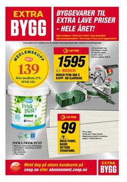 Tilbud på Bygg og hage i Coop Extra Bygg-katalogen i Sandnes