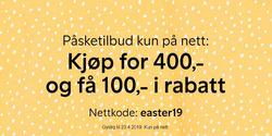 Tilbud fra Lindex i Oslo-brosjyren