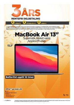 Tilbud fra Apple i POWER-brosjyren ( Publisert i går)