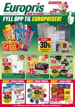 Europris-katalog ( Publisert i dag)