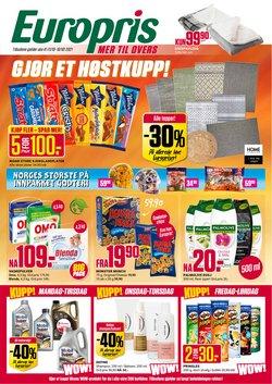 Europris-katalog ( Utløper i dag)