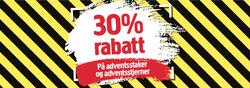 Tilbud fra Jula i Trondheim-brosjyren
