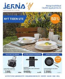 Jernia-katalog ( 13 dager igjen)