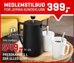 Tilbud fra Jernia i Oslo-brosjyren