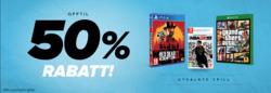 Tilbud fra Gamestop i Oslo-brosjyren