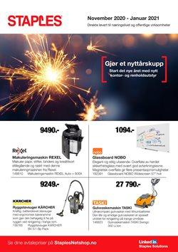Tilbud på Elektronikk og hvitevarer i Staples-katalogen i Oslo ( 7 dager igjen )