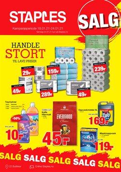 Tilbud på Elektronikk og hvitevarer i Staples-katalogen i Oslo ( Utløper i dag )