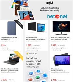 Tilbud fra Elektronikk og hvitevarer i NetOnNet-brosjyren ( Utløper i morgen )