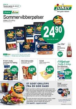 Tilbud fra Supermarkeder i Joker-brosjyren ( 13 dager igjen)