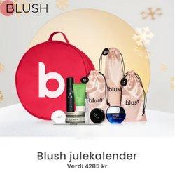 Tilbud fra Helse og skjønnhet i Blush-brosjyren ( Utløper i dag)