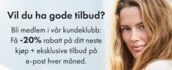 Tilbud fra Days Like This i Oslo-brosjyren