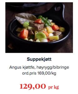 Tilbud fra Jacobs i Oslo-brosjyren