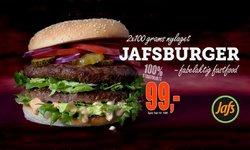 Tilbud fra Restauranter og caféer i JaFs-brosjyren ( Publisert i går)