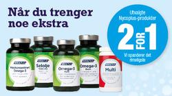 Tilbud fra Ditt apotek i Oslo-brosjyren