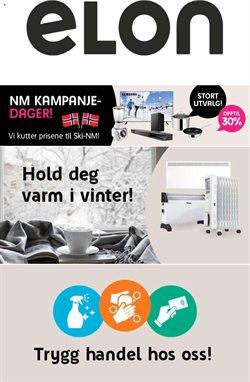Tilbud på Elektronikk og hvitevarer i ELON-katalogen i Oslo ( Utløper i dag )