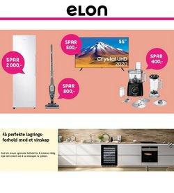 Tilbud fra Elektronikk og hvitevarer i ELON-brosjyren ( 3 dager igjen)