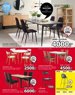 Tilbud fra Hjem og møbler i JYSK-brosjyren ( Utløper i dag )