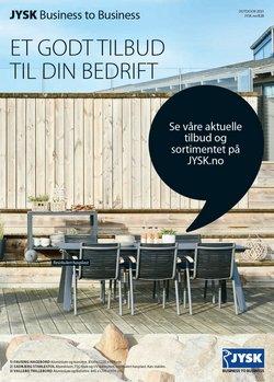 Tilbud fra Hjem og møbler i JYSK-brosjyren ( Mer enn 30 dager)