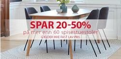 Tilbud fra JYSK i Oslo-brosjyren