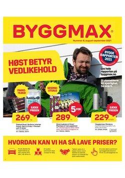 Tilbud fra Byggmax i Byggmax-brosjyren ( 3 dager igjen)