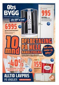 Obs Bygg-katalog i Drammen ( 3 dager siden )