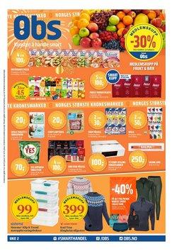 Tilbud fra Supermarkeder i Coop Obs-brosjyren ( Utløper i dag )