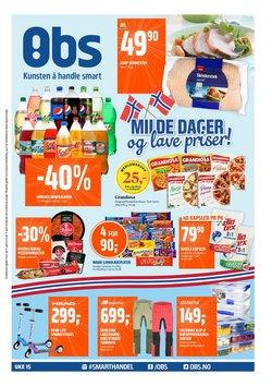 Tilbud fra Supermarkeder i Coop Obs-brosjyren ( 3 dager igjen )