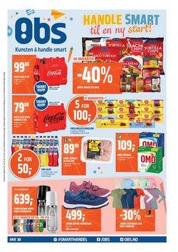 Tilbud fra Supermarkeder i Coop Obs-brosjyren ( 2 dager igjen)