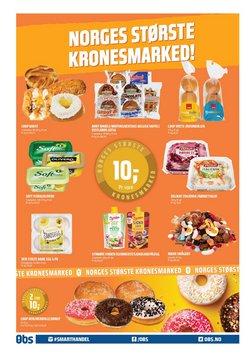 Tilbud fra Supermarkeder i Coop Obs-brosjyren ( Publisert i dag)