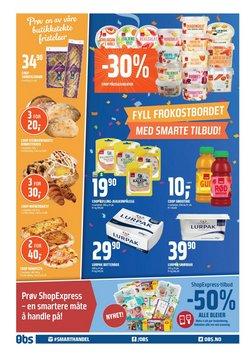 Tilbud fra Supermarkeder i Coop Obs-brosjyren ( Utløper i dag)