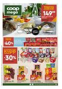 Tilbud fra Supermarkeder i Coop Mega-brosjyren ( Publisert i dag)
