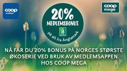 Tilbud fra Coop Mega i Oslo-brosjyren