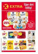Tilbud på Supermarkeder i Coop Extra-katalogen i Oslo ( 3 dager igjen )
