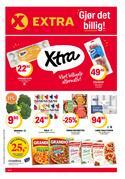 Tilbud fra Supermarkeder i Coop Extra-brosjyren ( 2 dager siden )