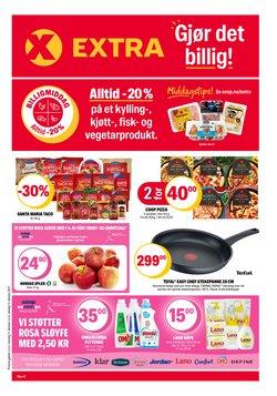 Tilbud fra Supermarkeder i Coop Extra-brosjyren ( Utløper i morgen)