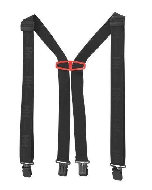 Tilbud: Bukseseler sort std logo suspenders 329 PK