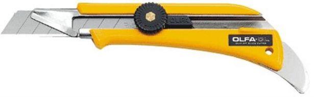 Tilbud: Kuttekniv 18mm ol avbrekkbart blad Olfa 119 PK