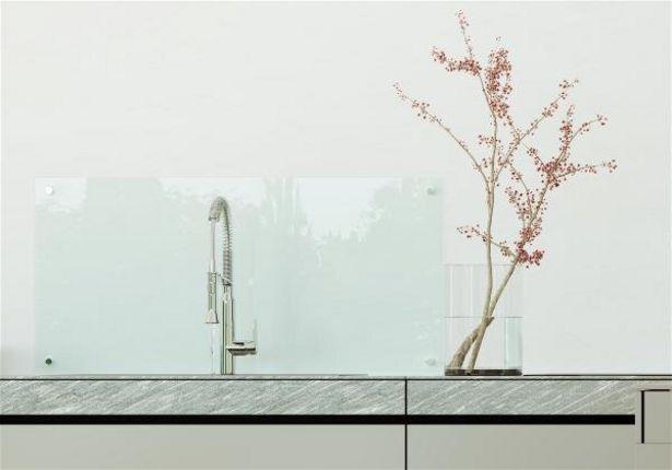 Tilbud: Glassplate herdet 80x45cm vann og fett sprutbeskyttelse 1749 PK
