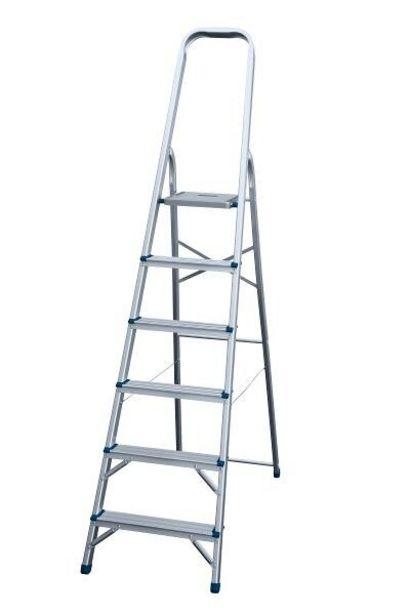 Tilbud: Gardintrapp 6-trinn Nor-step 799 PK