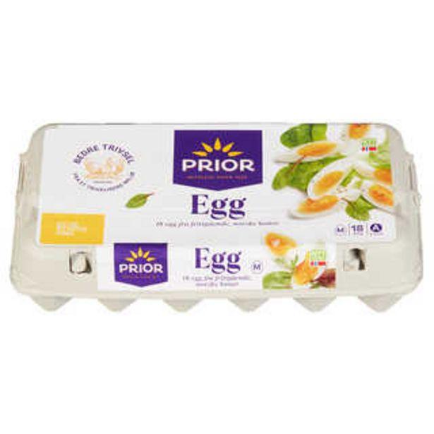 Tilbud: Egg Frittgående 39,9 PK