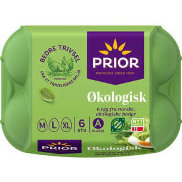 Tilbud: Egg Økologisk 25,2 PK