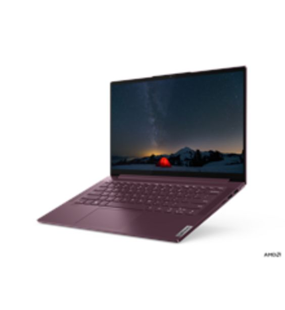 "Tilbud: Lenovo - Yoga Slim7 14ARE05 Ryzen 5 14"" FHD 8GB 256GB 6750 PK"