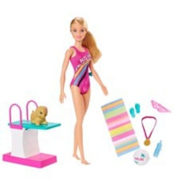 Tilbud: Barbie - Dreamhouse Adventures - Swimmer Doll (GHK23) 249 PK