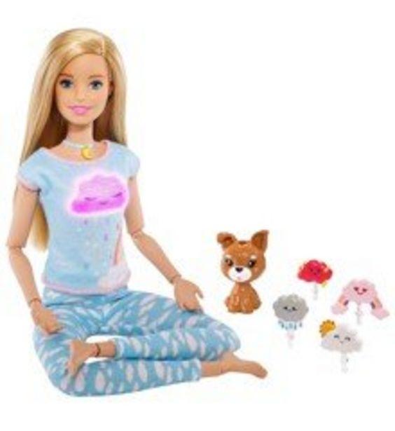 Tilbud: Barbie - Wellness - Meditation (Blonde) (GNK01) 333 PK