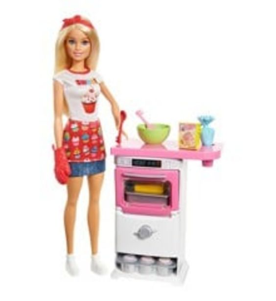 Tilbud: Barbie - Bakery Chef Doll and Playset (FHP57) 249 PK