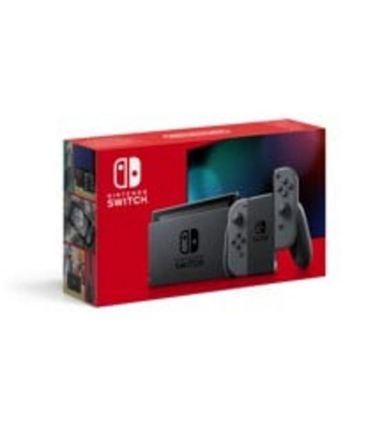 Tilbud: Nintendo Switch Console with Grey Joy-Con (Upgraded Version) 3099 PK