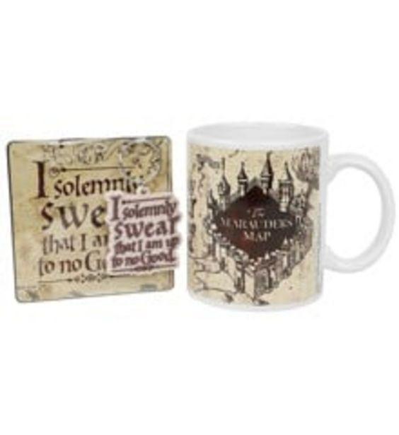 Tilbud: Harry Potter Mug Marauders Map 179 PK